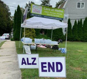 Walk to End Alzheimer's Water Station 2019
