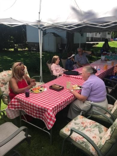 Caregiver Appreciation BBQ at Care at Home