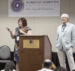 Suzanne Care Speaking at a National Conference